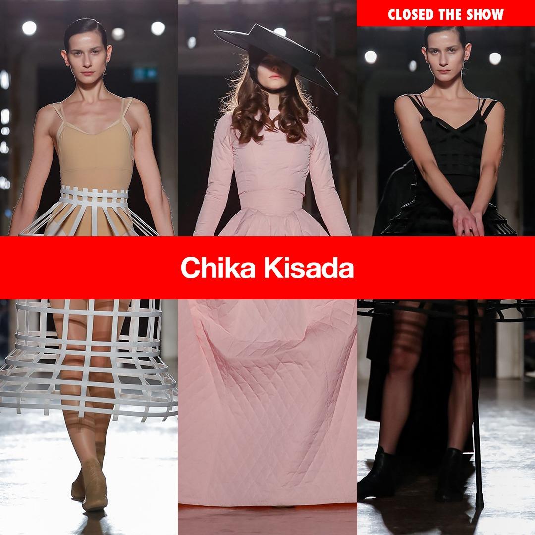 0175aae02614 NOEMI and KAROLINA for Chika Kisada at Milano Fashion Week